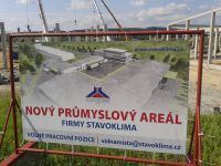 Pile foundation and building of industrial area - Stavoklima (2015)