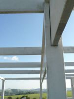 Manufacture of precast concrete for new production hall Benteler Rumburk (2011)